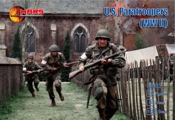 WWII U.S. Paratroopers · MRF 32033 ·  Mars Figures · 1:32