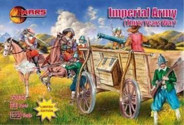 Imperial Army, 30 years war · MRF 72032 ·  Mars Figures · 1:72