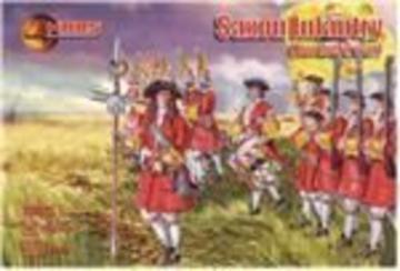 Saxon Infantry, Northern war · MRF 72035 ·  Mars Figures · 1:72