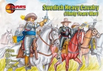 Swedish heavy cavalry · MRF 72036 ·  Mars Figures · 1:72