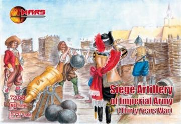 Siege artillery of Imperial Army · MRF 72038 ·  Mars Figures · 1:72
