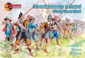 French Infantry & guard · MRF 72039 ·  Mars Figures · 1:72