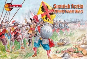 Spanish Tertia, 30 Years War · MRF 72042 ·  Mars Figures · 1:72
