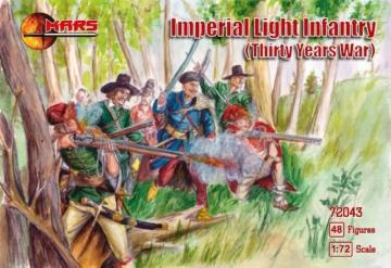 Imperial light infantry, thirty years w. · MRF 72043 ·  Mars Figures · 1:72