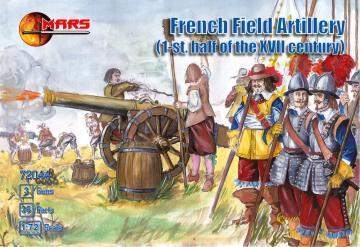 French Field Artillery I.half of XVII · MRF 72044 ·  Mars Figures · 1:72
