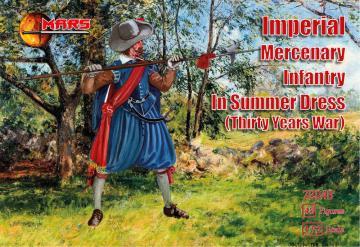 Imperial Mercenary infantry in summer · MRF 72048 ·  Mars Figures · 1:72
