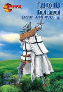 Teutonic Foot Knight I half of XV centur · MRF 72057 ·  Mars Figures · 1:72