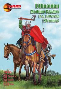 Lithuanian medium cavalry, 1st half XV c · MRF 72058 ·  Mars Figures · 1:72