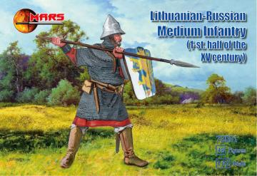Lithuanian-Russian medium infantry · MRF 72061 ·  Mars Figures · 1:72
