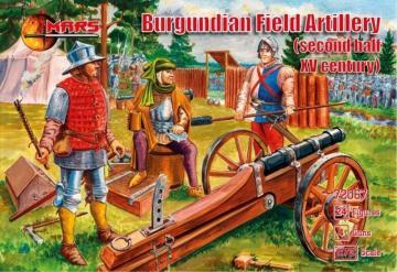 Burgundian field artillery,2nd half of the XV century · MRF 72067 ·  Mars Figures · 1:72
