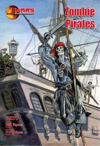 Zombie Pirates · MRF 72070 ·  Mars Figures · 1:72