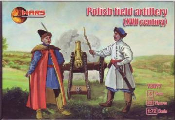 Polish field artillery, XVII century · MRF 72077 ·  Mars Figures · 1:72