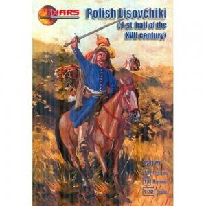 Polish lisovchiki, 1st half of the 17th · MRF 72079 ·  Mars Figures · 1:72