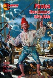 Pirates (Buccaneers) 1620-1660 · MRF 72082 ·  Mars Figures · 1:72