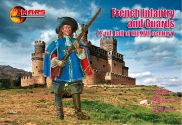 French Infantry and Guards · MRF 72083 ·  Mars Figures · 1:72