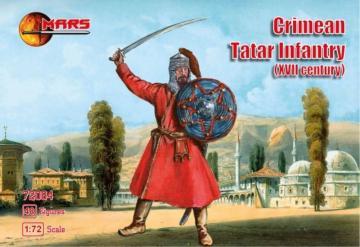 Crimean Tatar Infantry · MRF 72084 ·  Mars Figures · 1:72