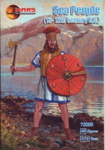 Sea Peoples, 13-12th century BC · MRF 72088 ·  Mars Figures · 1:72