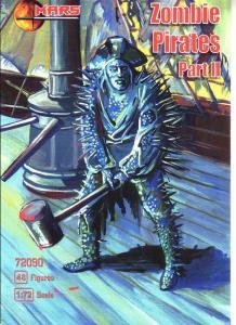 Zomby Pirates, part II · MRF 72090 ·  Mars Figures · 1:72