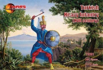 Turkish heavy infantry, XVII century · MRF 72091 ·  Mars Figures · 1:72