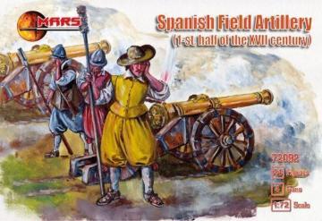 Spanish field artillery, XVII century · MRF 72092 ·  Mars Figures · 1:72