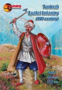 Turkish Eyalet infantry, XVII century · MRF 72097 ·  Mars Figures · 1:72