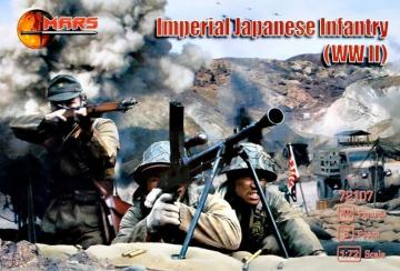 WWII Imperial Japanese infantry · MRF 72107 ·  Mars Figures · 1:72