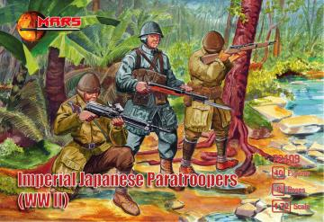 WWII Imperial Japanese paratroopers · MRF 72109 ·  Mars Figures · 1:72