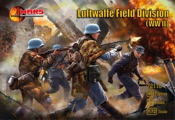 WWII Luftwaffe field division · MRF 72110 ·  Mars Figures · 1:72