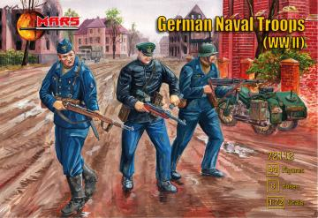WWII German naval troops · MRF 72112 ·  Mars Figures · 1:72