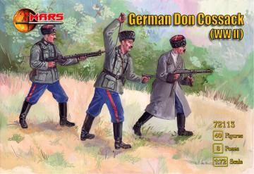 WWII German Don cossack · MRF 72113 ·  Mars Figures · 1:72