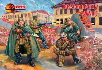 WWII Russian infantry · MRF 72115 ·  Mars Figures · 1:72