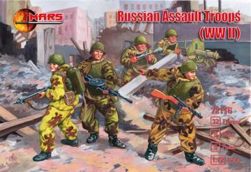 WWII Russian Assault Troops · MRF 72116 ·  Mars Figures · 1:72
