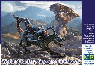 World of Fantasy - Graggeron & HASEYA · MBO 24007 ·  Master Box Plastic Kits · 1:24