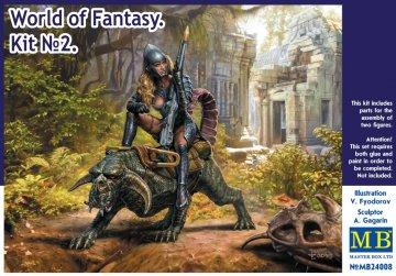 World of Fantasy - Kit No. 2 · MBO 24008 ·  Master Box Plastic Kits · 1:24