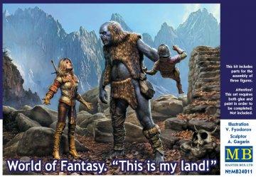 World of Fantasy - This is my land! · MBO 24011 ·  Master Box Plastic Kits · 1:24