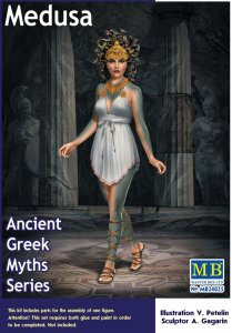 Medusa - Ancient Greek Myths Series · MBO 24025 ·  Master Box Plastic Kits · 1:24