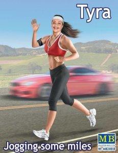 Tyra - Jogging some miles · MBO 24050 ·  Master Box Plastic Kits · 1:24
