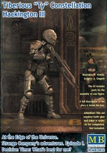 Tiberious Ty - Episode I - The first meeting · MBO 24054 ·  Master Box Plastic Kits · 1:24