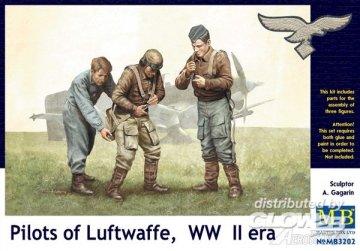 Pilots of Luftwaffe, WWII era. Kit 1 · MBO 3202 ·  Master Box Plastic Kits · 1:32