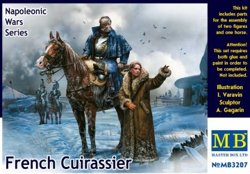 French Cuirassier, Napoleonic · MBO 3207 ·  Master Box Plastic Kits · 1:32