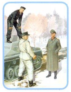 Deutsche Panzerbesatzung Set II · MBO 3508 ·  Master Box Plastic Kits · 1:35