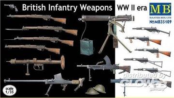 British infantry weapons, WWII era · MBO 35109 ·  Master Box Plastic Kits · 1:35