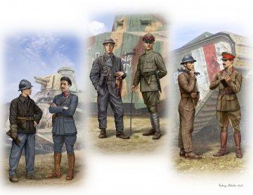 Tankmen of WW1 era · MBO 35134 ·  Master Box Plastic Kits · 1:35