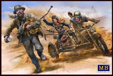 Desert Battle Series, Skull Clan - To Catch a Thief · MBO 35140 ·  Master Box Plastic Kits · 1:35