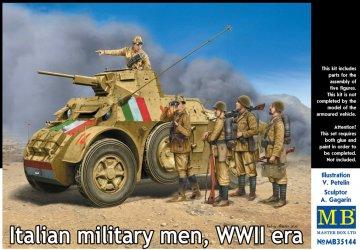 Italian military men WWII era · MBO 35144 ·  Master Box Plastic Kits · 1:35