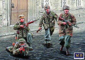 German Paratroopers WWII · MBO 35145 ·  Master Box Plastic Kits · 1:35