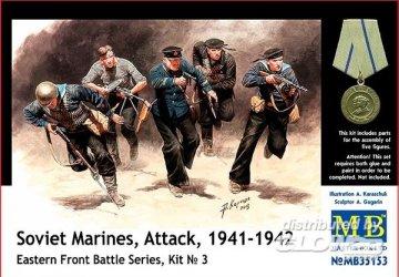 Soviet marinas Attack 1941-42 Easter Front · MBO 35153 ·  Master Box Plastic Kits · 1:35