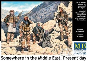 Somewhere in the Middle East · MBO 35163 ·  Master Box Plastic Kits · 1:35