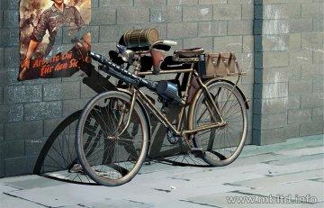 German military bicycle, WW II era · MBO 35165 ·  Master Box Plastic Kits · 1:35