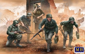 German Infantry WWII era early Period · MBO 35177 ·  Master Box Plastic Kits · 1:35